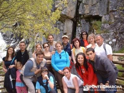 Cascadas del Purgatorio - Senderismo Joven Madrid; excursiones de fin de semana;viajes puente